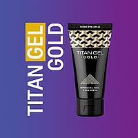 Titan Gel Gold (Титан гель Голд) - XXL крем для увеличения члена, пениса, интимный лубрикант, увеличить член