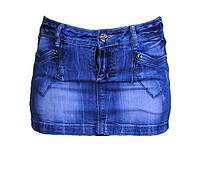 Юбка женская мини джинсовая
