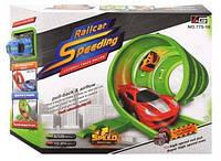 Трек со спиральными горками Railcar Speeding 775-10