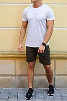 Футболка шорты мужские, в комплекте либо раздельно. Материал 100% хлопок, 5 цветов. код MD-04