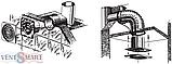 Вентилятор вытяжной настенно-потолочный Blauberg Bravo 150 (Блауберг Браво 150), фото 5