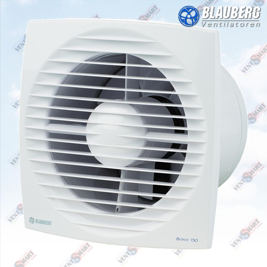 БЛАУБЕРГ Браво 150 ST ― внешний вид осевых вытяжных вентиляторов