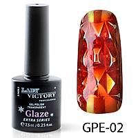 Гель-лак на прозрачной основе Lady Victory GPE-02, 7.3 мл