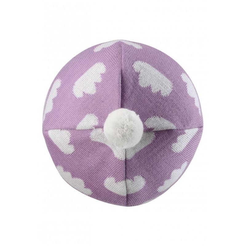 Розовая шапка Neemi для девочки Lassie 42/44* (718768-5091)