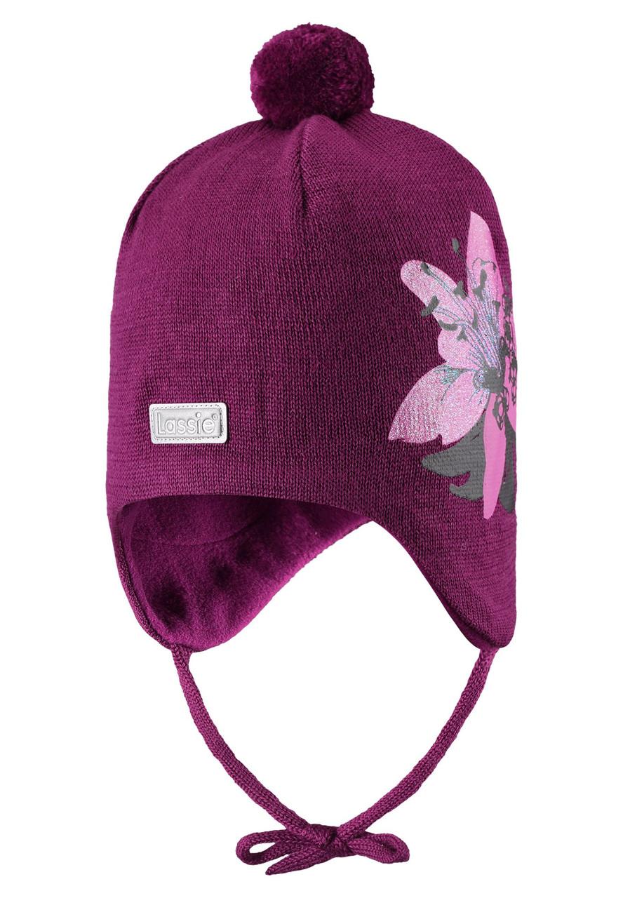 Фиолетовая шапка Ramat для девочки Lassie 42/44* (718773-4841)