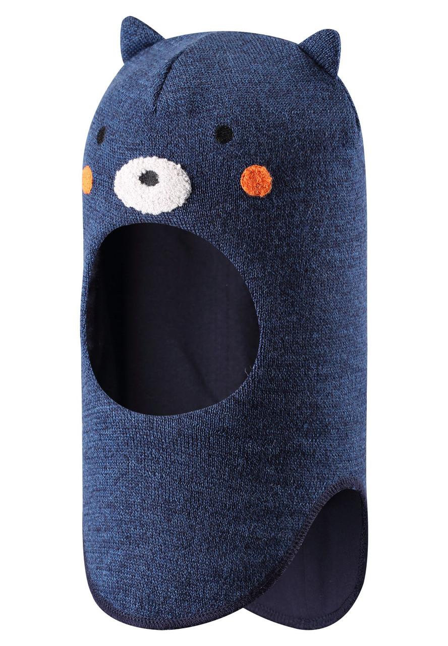 Синяя шапка Mysi унисекс Lassie 48* (718775-6951)