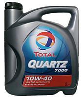 Моторное масло полусинтетика Total (Тотал) Quartz 7000 10w40 4л