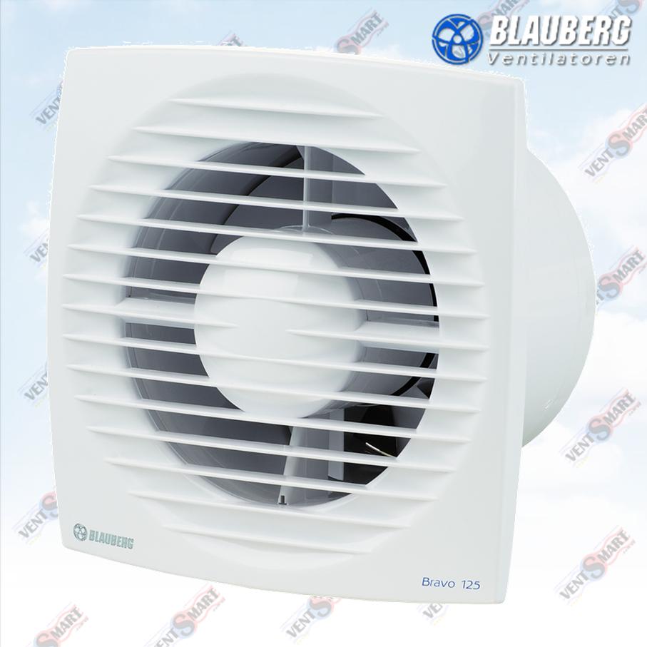 Внешний вид осевых вытяжных вентиляторов БЛАУБЕРГ Браво 125 T