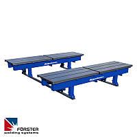 Передвижные устройства (столы) на рельсах
