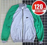 Світшот Adidas кофта зелено сіра 2XL