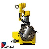 Эффективная работа позиционера с рабочим узлом и робота
