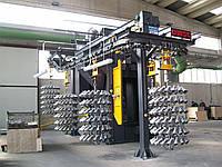 Дробеметные установки подвесного типа
