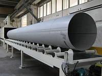 Дробеметная установка для обработки труб