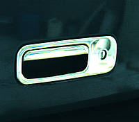 Накладка на задню ручку багажника Volkswagen Caddy 2004-2010 р. в. нержавійка