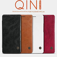 Кожаный чехол (книжка) Nillkin Qin Series для OnePlus 3 / OnePlus 3T