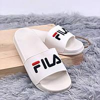Взуття FILA Шльопки Fila White