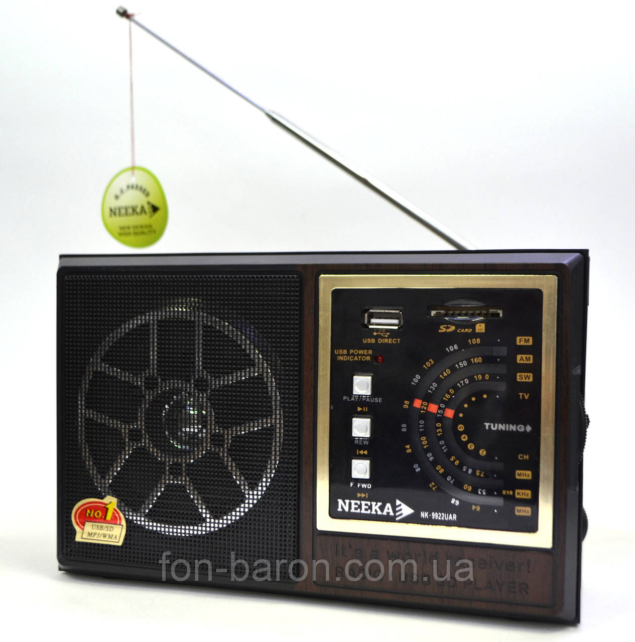 Радиоприемник NEEKA NK-9922 UAR, фото 1