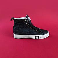 Взуття Converse x Undefeated High Denim 36