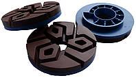 """Пластмасові полірувальні круги для граніту, пісковика (""""4 STEPS"""") (D 100)"""