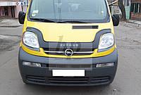 Дефлектор капота (мухобойка) Opel vivaro (опель виваро 2001+)