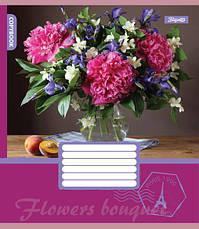 А5/96 кл. 1В FLOWERS BOUQUET, тетрадь для записей                                         , фото 2