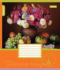 А5/96 кл. 1В FLOWERS BOUQUET, тетрадь для записей                                         , фото 3