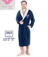 Элитный бамбуковый мужской халат