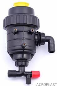 Фільтр грубої очистки з клапаном