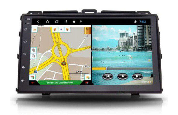 Штатная магнитола Toyota Prado 120 Lexus GX 470 2Gb/32Gb 8-ядерный Android 8.1 Allwinner T8