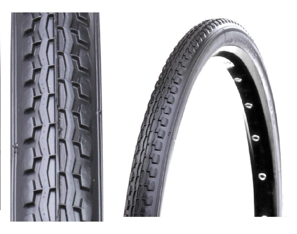 Покрышки для велосипеда, инвалидной коляски 24x1 3/8 (37-540) серого цвета Deestone Таиланд