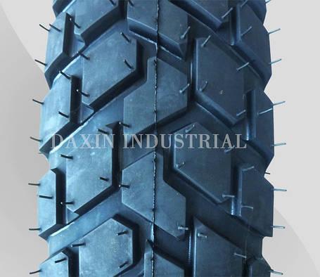 Покрышка (шина), отличного качества, шипованная  2,75-17 (80/90-17) OCST (DX-025) TT, фото 2