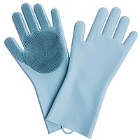 Силиконовые перчатки Xiaomi Jordan-Judy Silicone Gloves Blue, фото 1