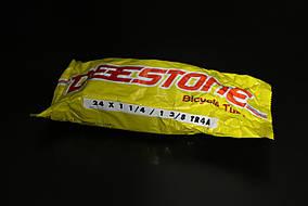 Камера велосипедная 24x1 1/4 - 1 3/8 (37-533, 37-540) TR4A Deestone (Таиланд)
