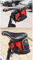 Качественная велосумка под седло CBR 18х8х11 см, фото 3