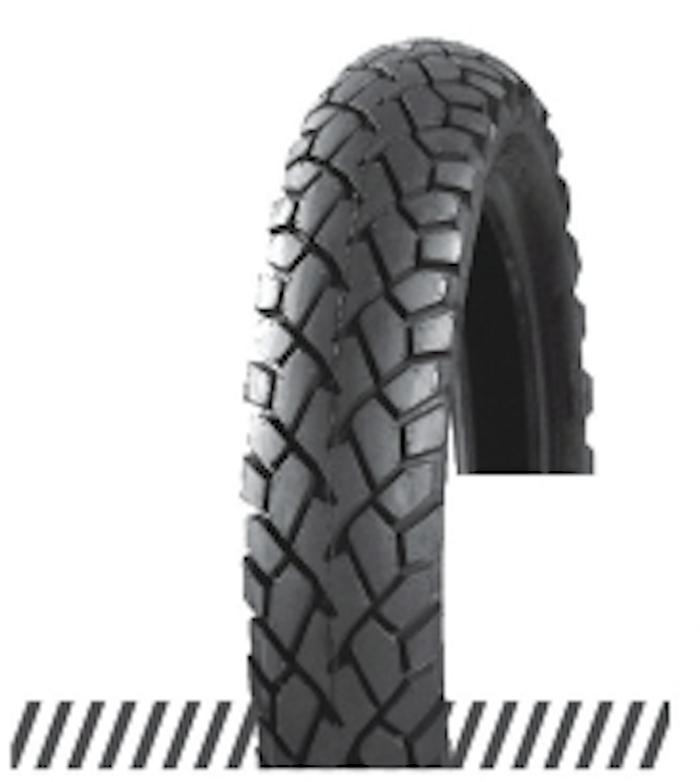Покрышка отличного качества для скутеров 6PR (60% каучука) 3.00-10 OCST DX-032