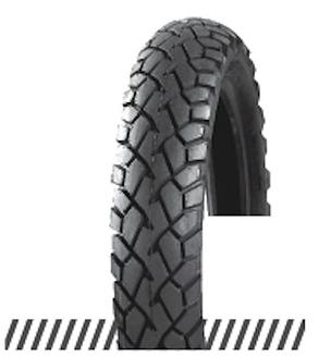 Покрышка отличного качества для скутеров 6PR (60% каучука) 3.00-10 OCST DX-032, фото 2