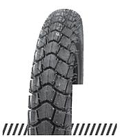 Покрышка отличного качества для скутеров 6PR (60% каучука) 3.00-10 OCST DX-046