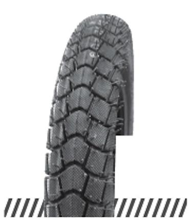 Покрышка отличного качества для скутеров 6PR (60% каучука) 3.00-10 OCST DX-046, фото 2