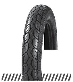 Покрышка хорошего качества для скутеров 6PR (46% каучука) 3.00-10 AND DX-021