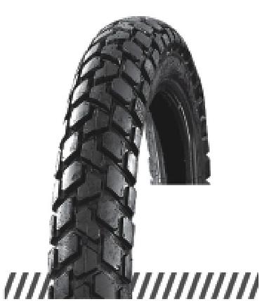Покрышка хорошего качества для скутеров 6PR (60% каучука) 3.50-10 OCST DX-025, фото 2