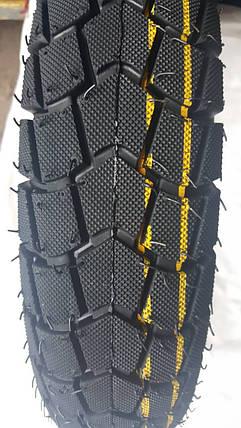 Покрышка хорошего качества для скутеров 6PR (46% каучука) 3.00-10 AND DX-083, фото 2