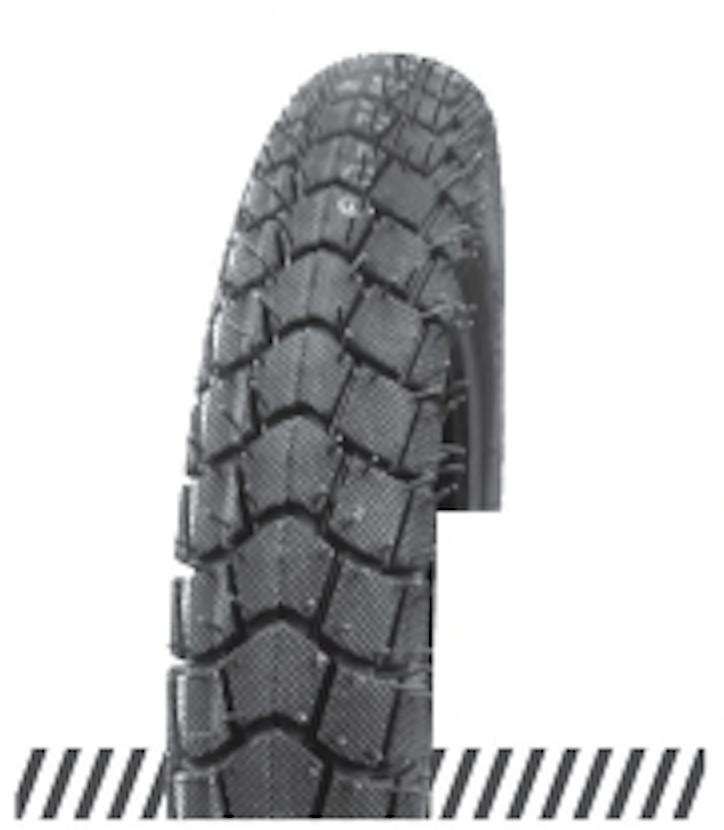 Покрышка (шина) отличного качества, дорожный протектор 3,00х18 (90/90-18) OCST (DX-046) TT