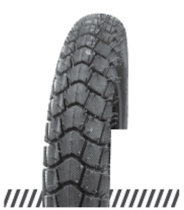 Покрышка (шина) отличного качества, дорожный протектор 3,00х18 (90/90-18) OCST (DX-046) TT, фото 2