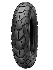 Покрышка хорошего качества для скутеров 4PR (60% каучука) 120/70-12 Deestone D-809