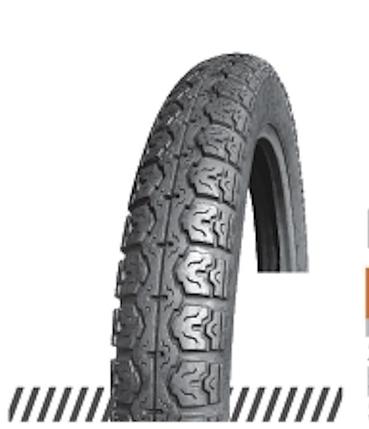 Покрышка (шина) отличного качества, универсальный протектор  2,50-17 (70/90-17) OCST DX-041 TT, фото 2