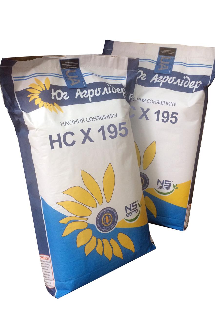 Семена подсолнечника НС Х 195 (экстра 10,5 кг), фото 1