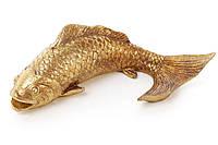 Декоративная статуэтка Рыбка, 18см, цвет - состаренное золото BonaDi 450-805