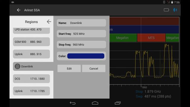 назначение и управление маркированными диапазонами частот