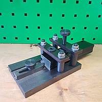 Кондуктор для сверления отверстий в алюминиевых рамках с зарезкой по 45