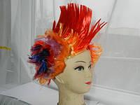 """Разноцветный парик """"Ирокез"""" .7"""